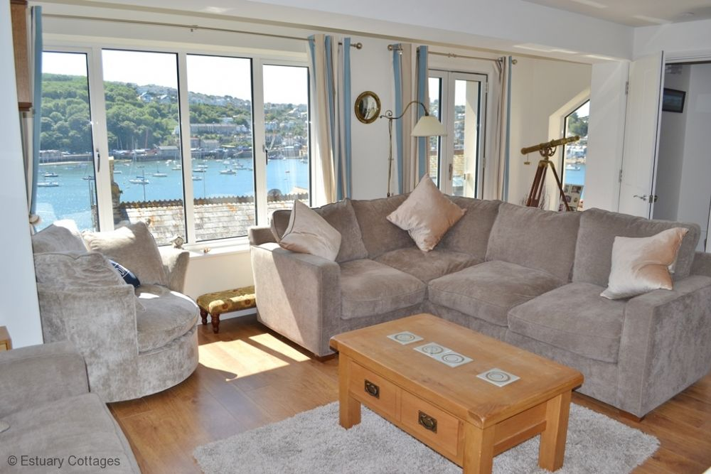 Sitting Room with lovely river views