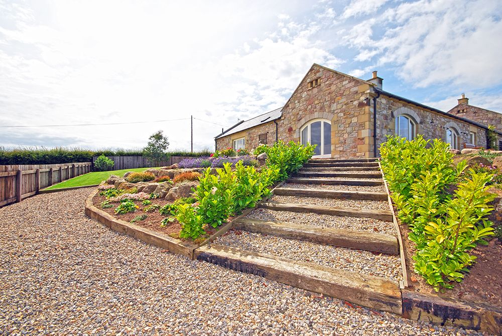 The byre retreat seahouses northumbria coast country for Custom cottage fish house prices