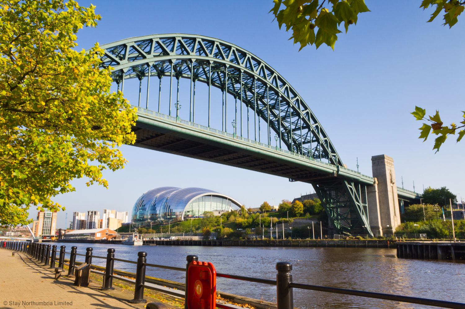 Newcastle : Tyne Bridge & Sage : 30 minute drive