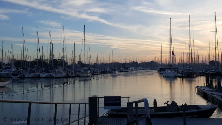 Chichester Marina - only a few minutes by foot away