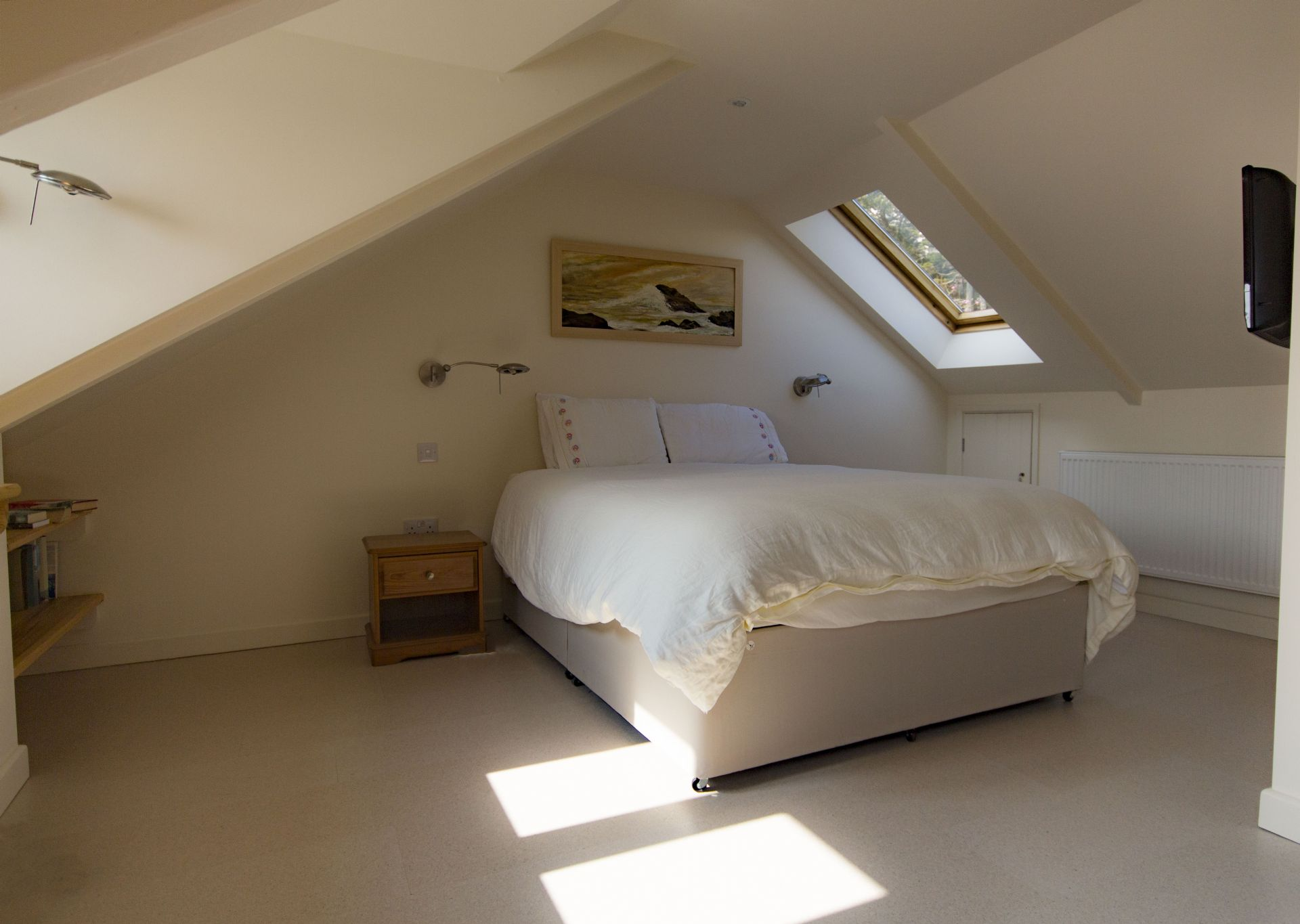 Captains Cottage; St Mawes; Master Bedroom 2nd Floor II
