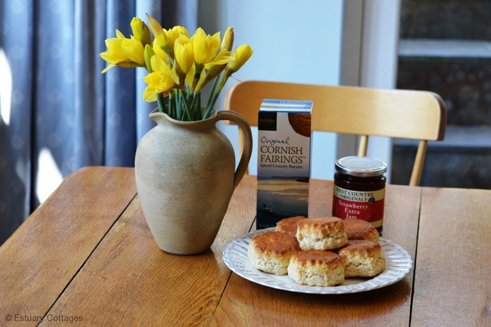Some Cornish goodies to enjoy on your arrival
