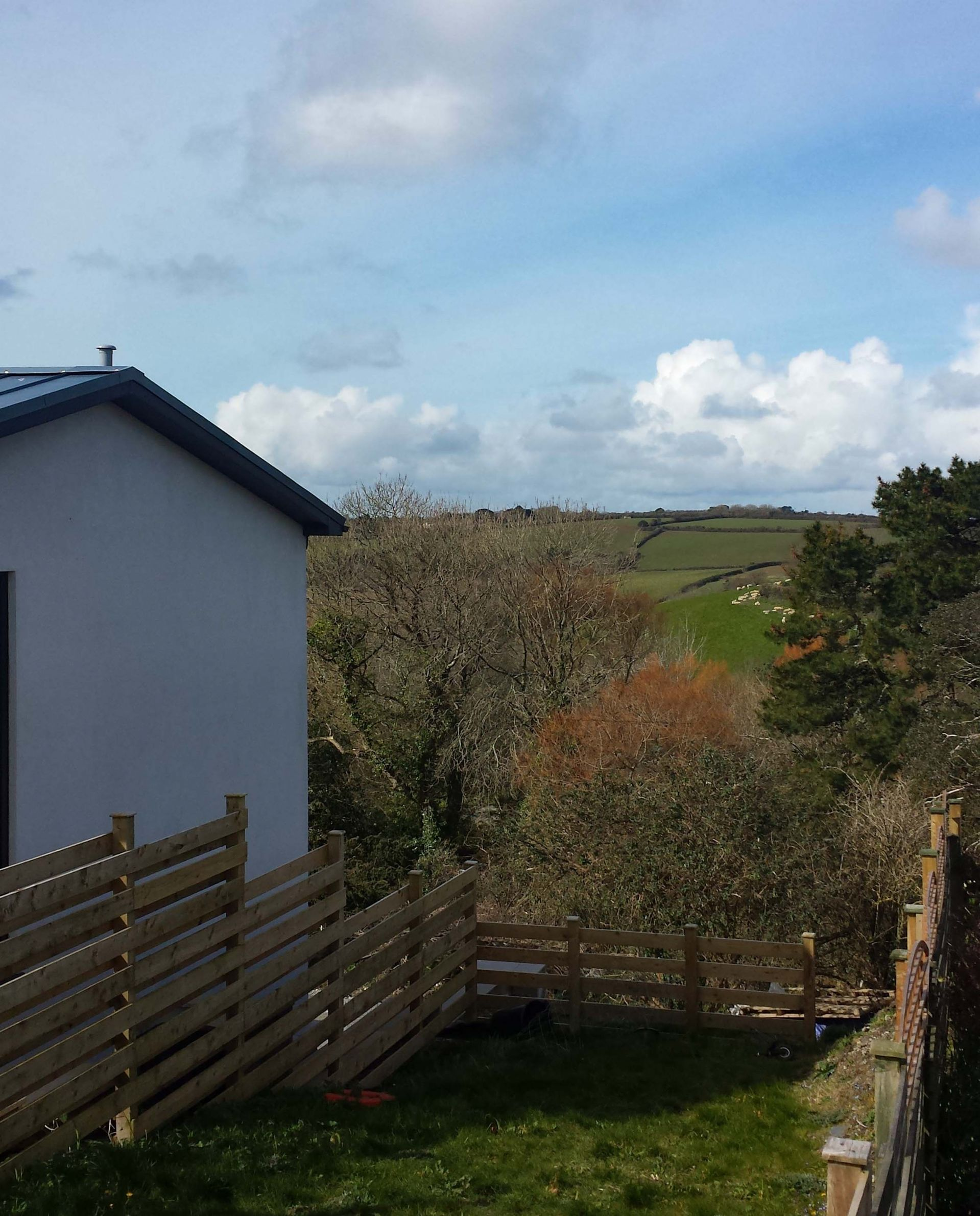 Penvar Cottage; Gerrans; View from Hot Tub