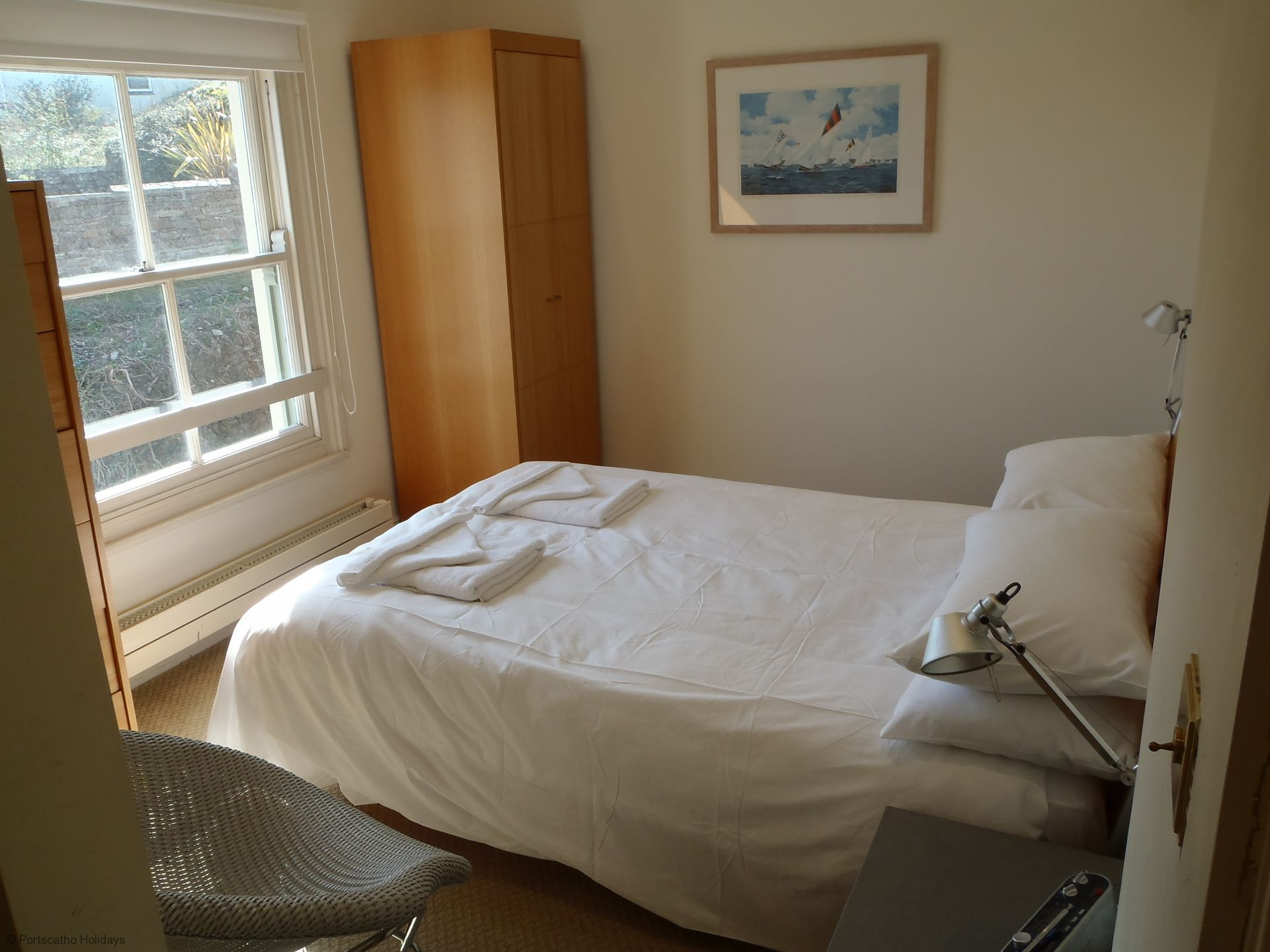 6 Spinnakers; Wentworth House; St Mawes; Master Bedroom II