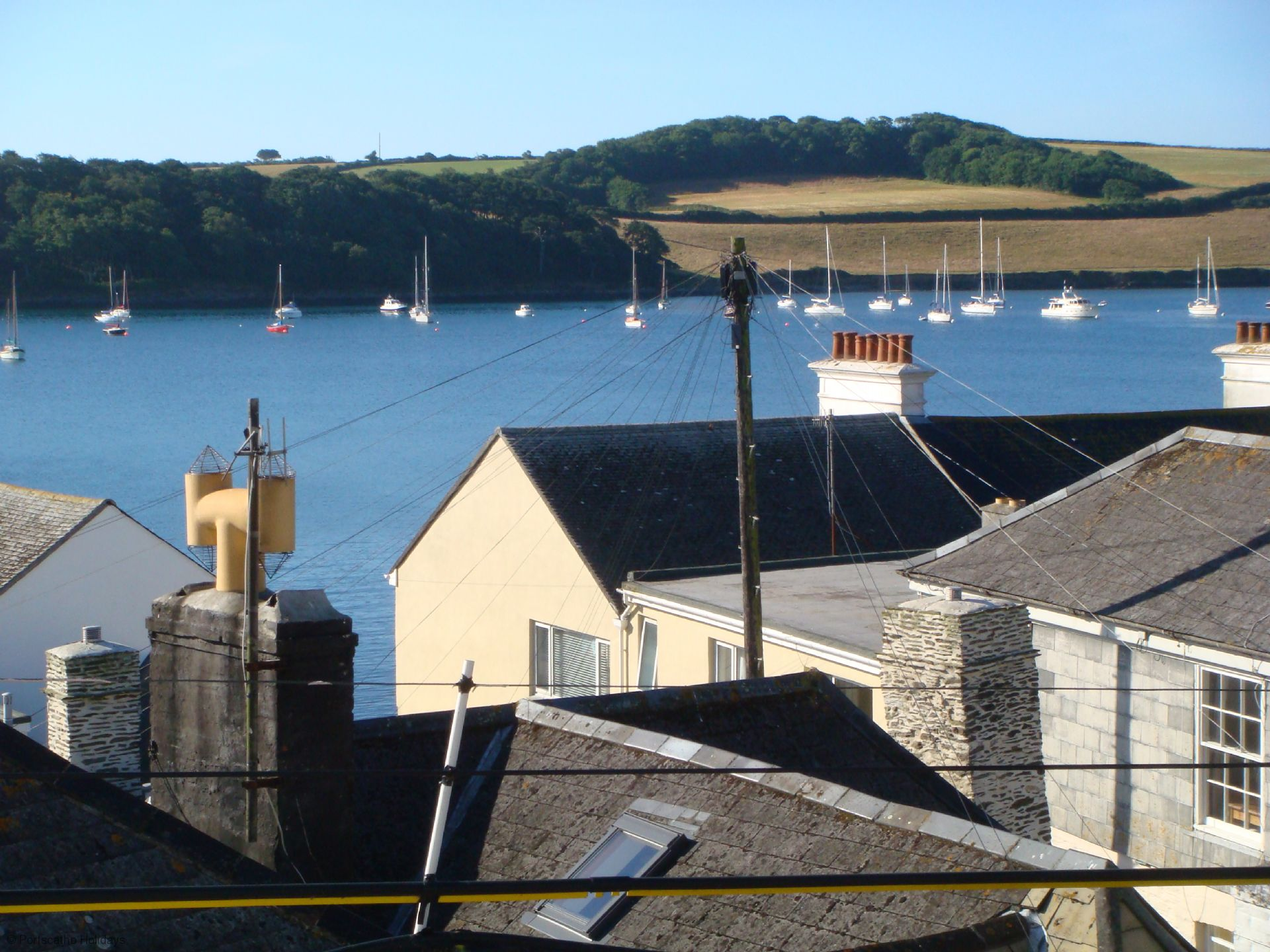 6 Spinnakers; Wentworth House; St Mawes; View II