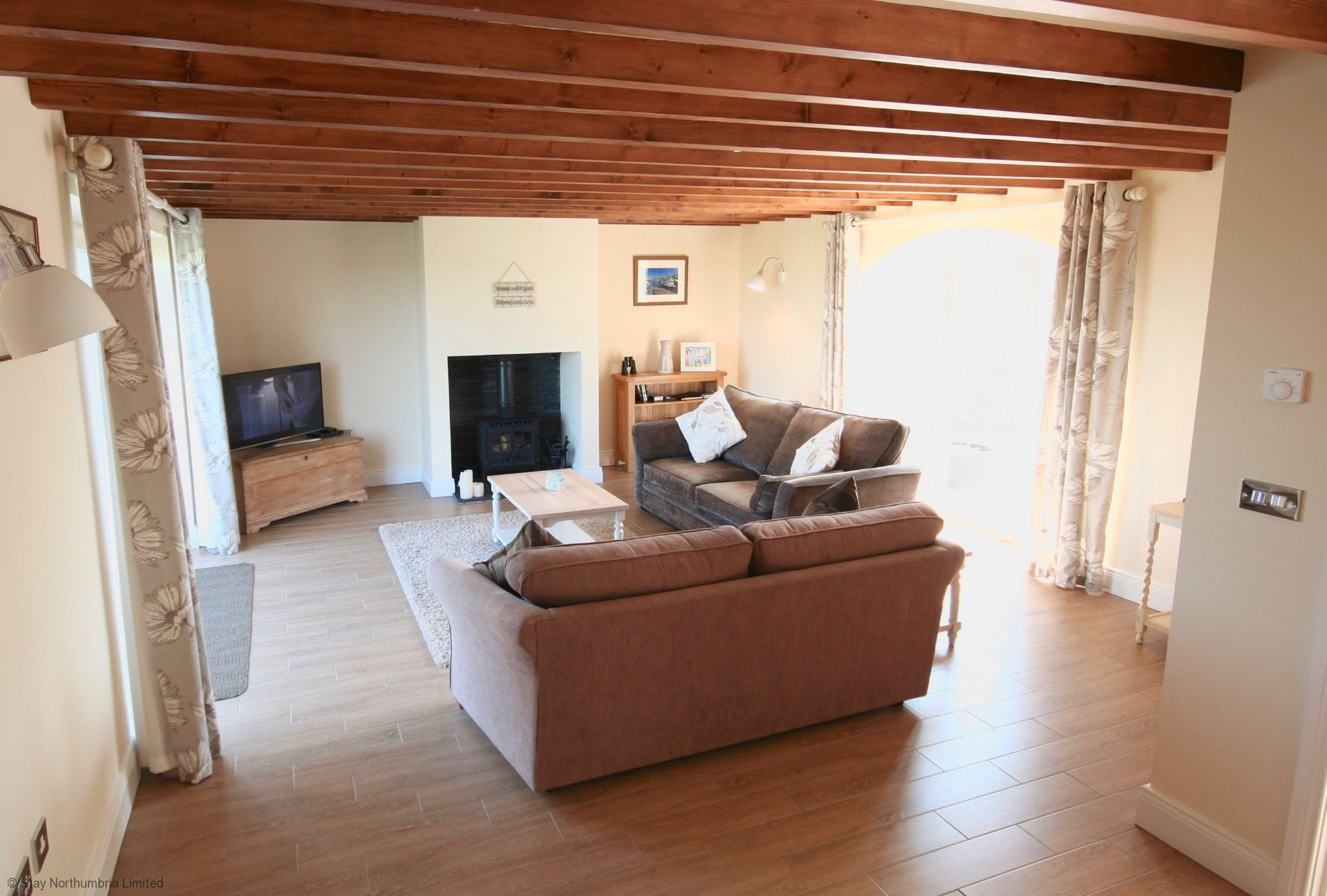 3 bedroomed holiday cottage in Seahouses Northumberland