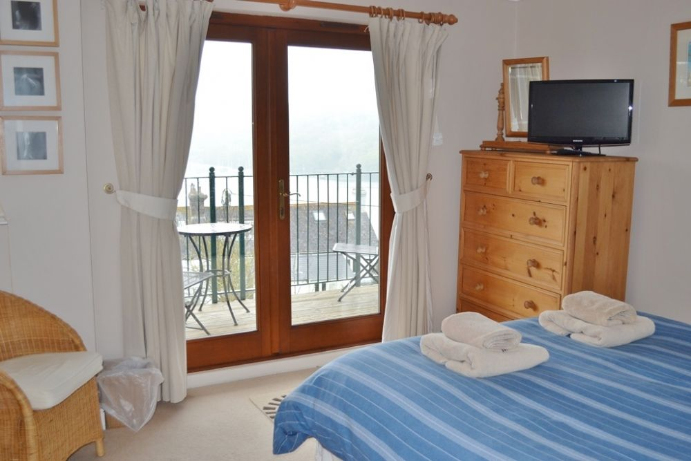 Bedroom 2 - Double with river views and balcony