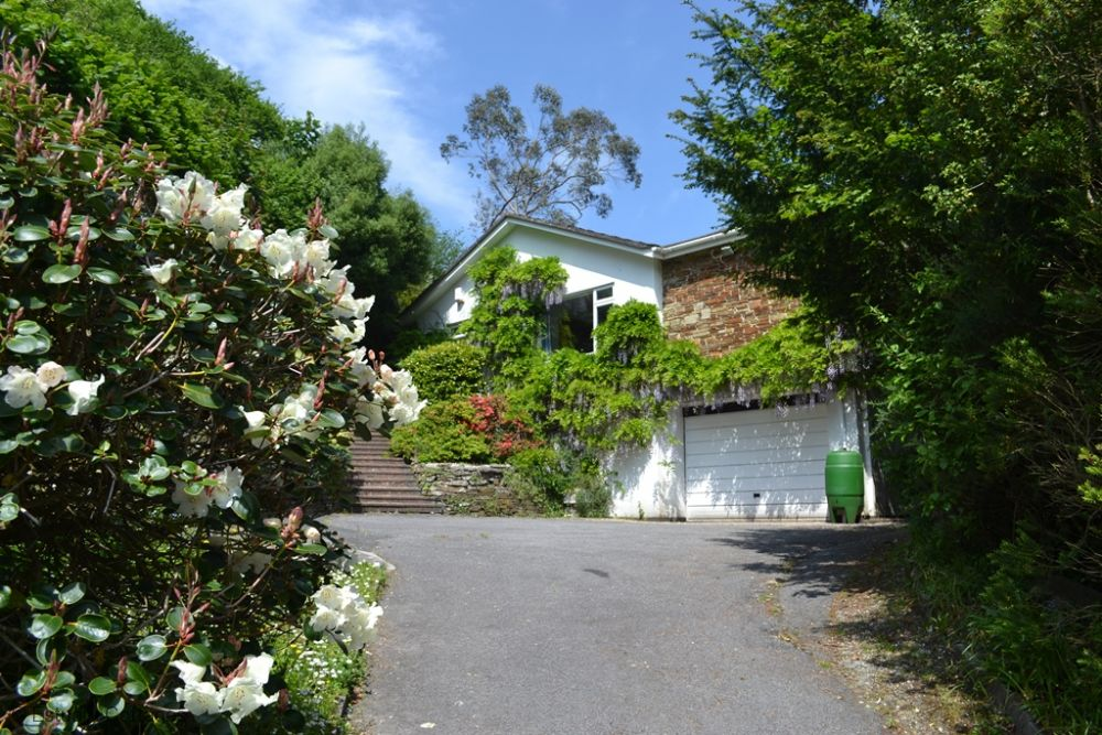 Front Drive to property