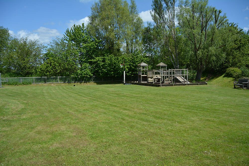 Within 50 metres of the lodge is a large children's play area