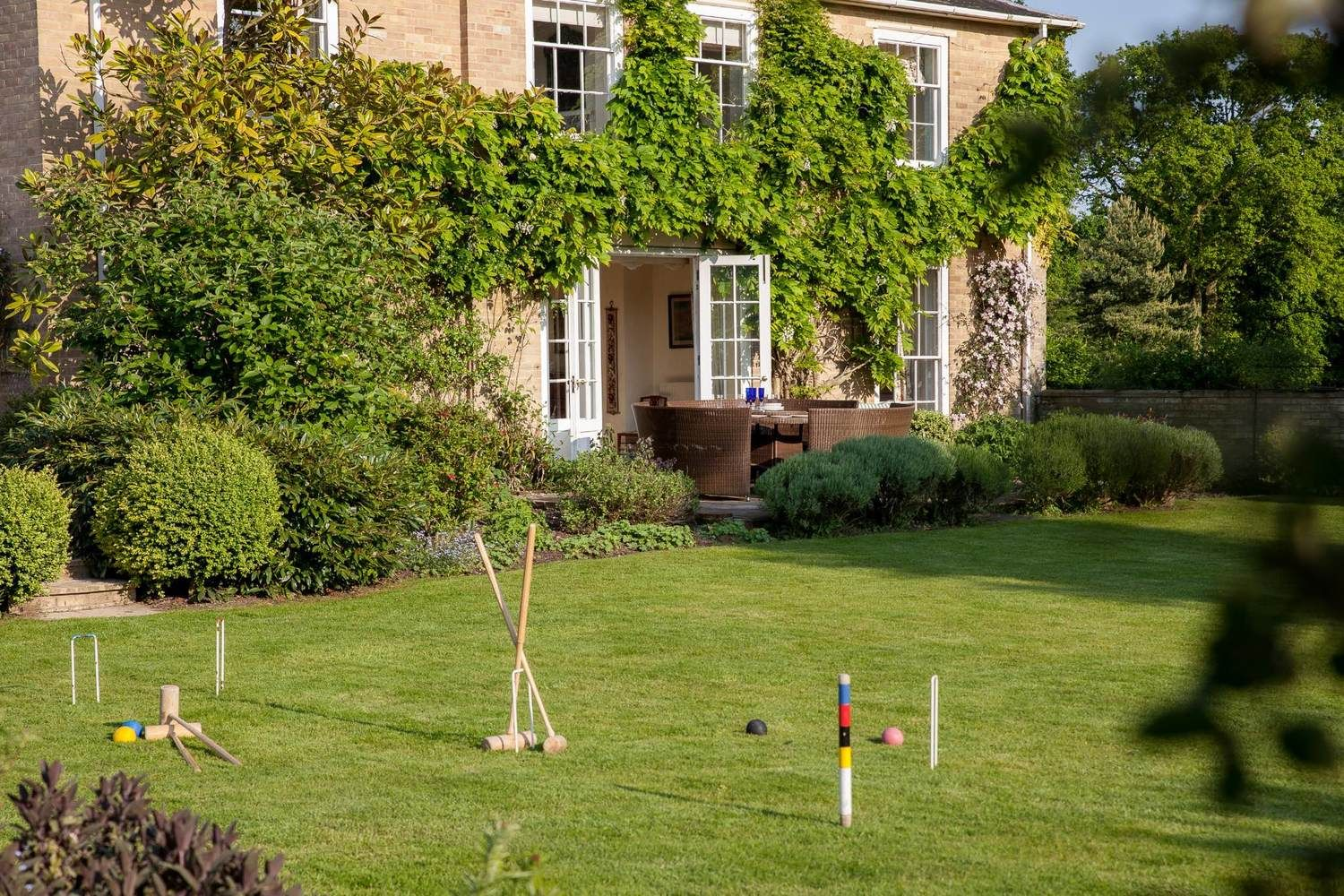 Play croquet in the Walled Garden