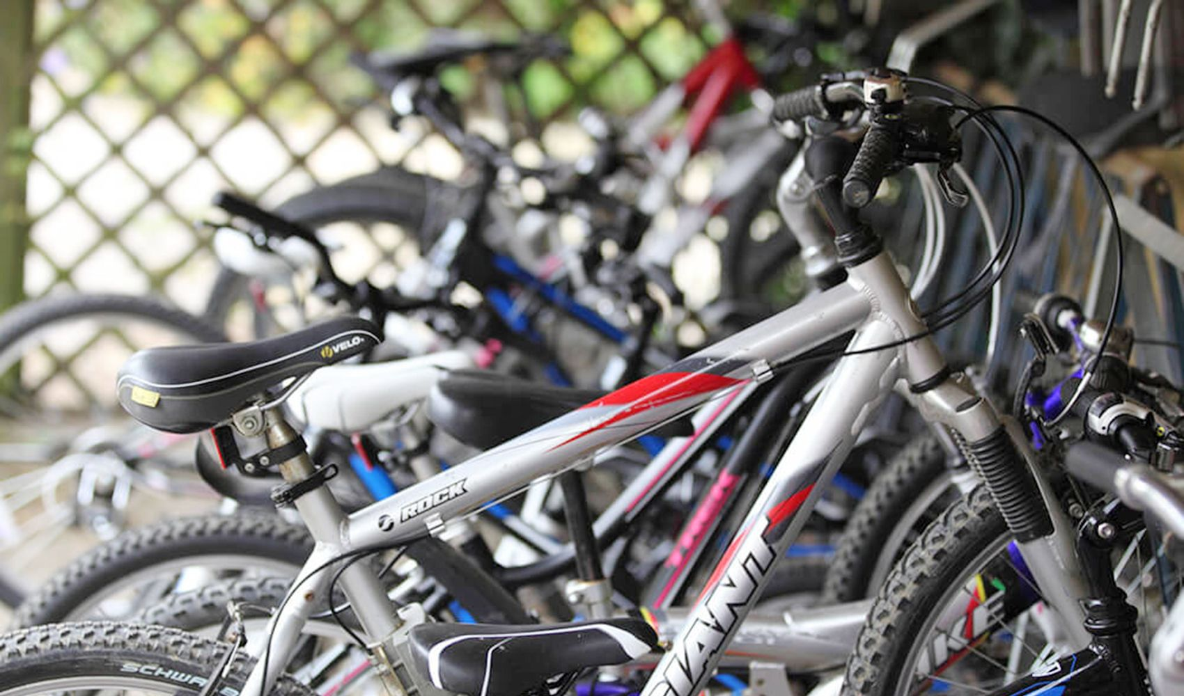 Guests will also find bikes for adults and children