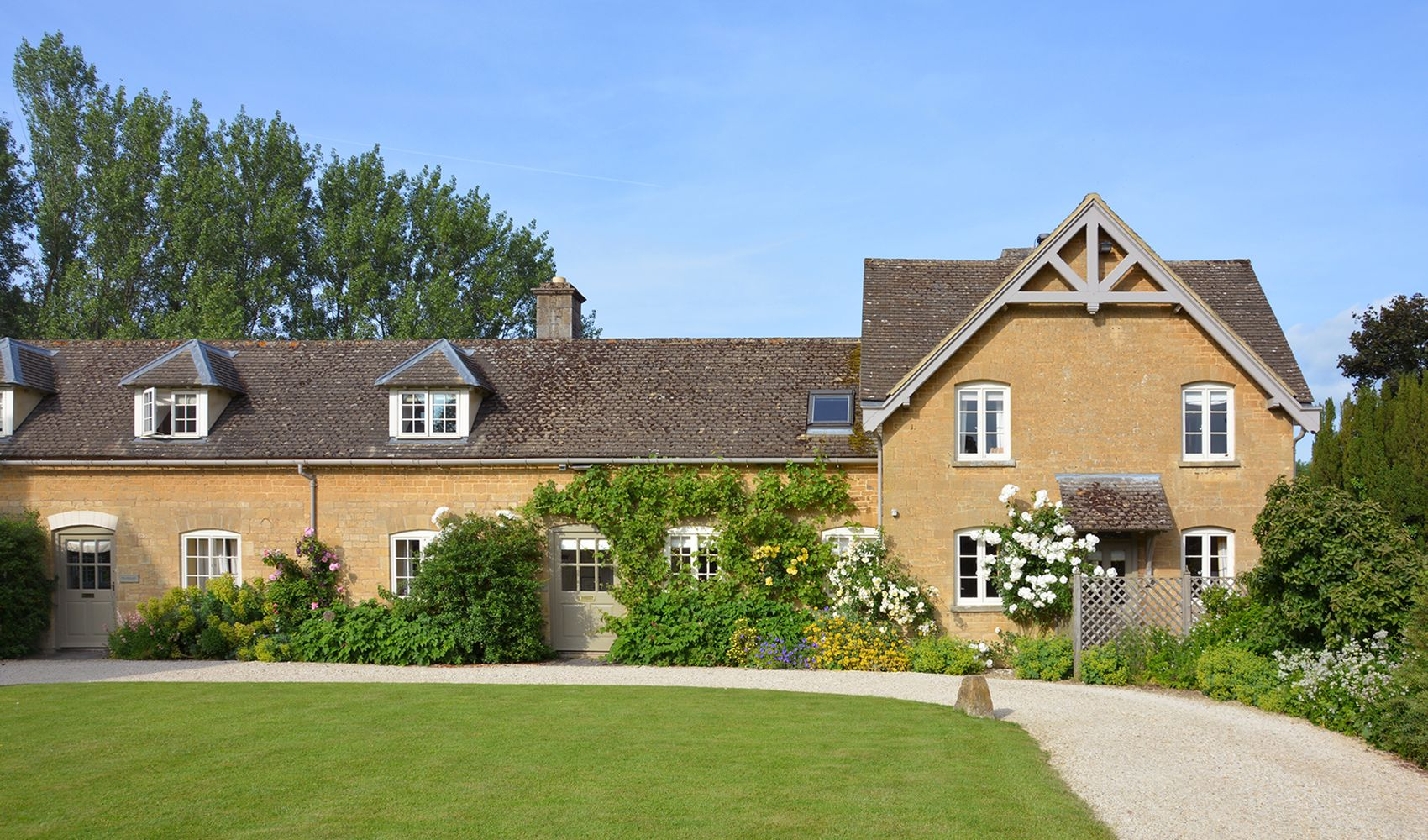 Goodwood Cottage, sleeping 5, was originally built for the stable grooms