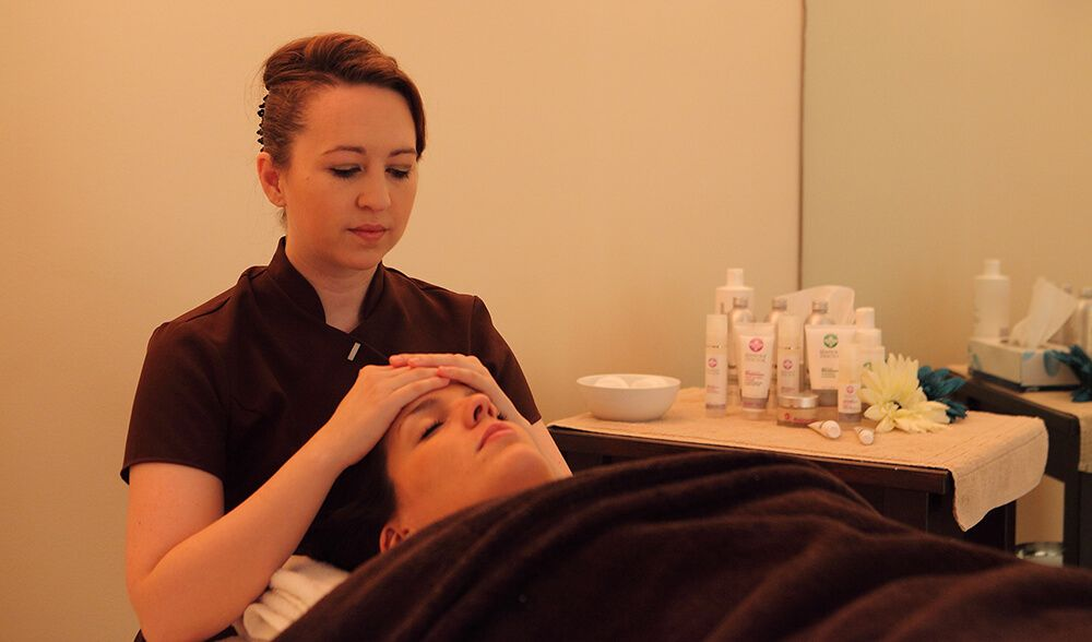 The treatment rooms aim to create a calming & relaxing environment, designed to help guests unwind