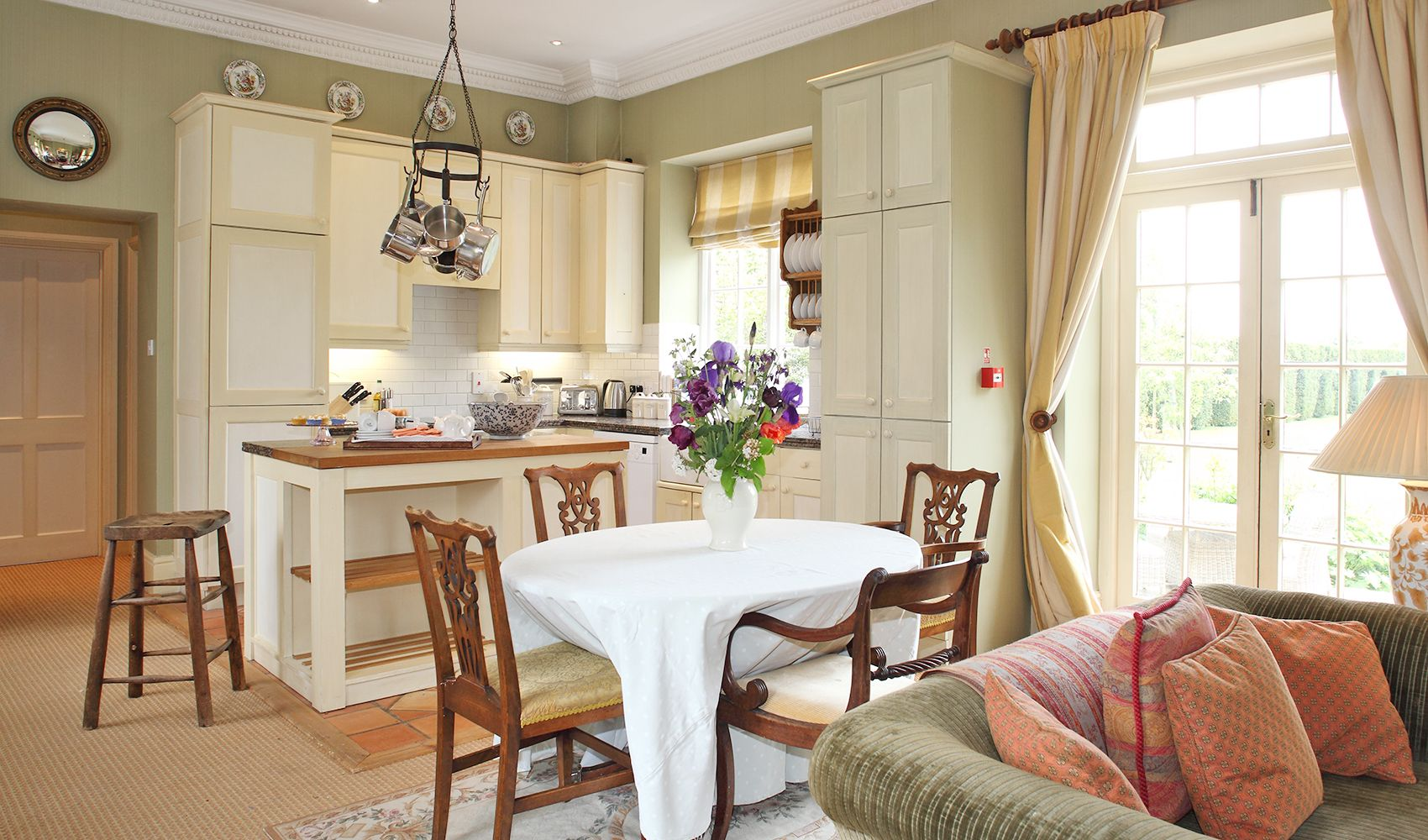 Ground floor: Kitchen and dining areas in the open plan living space