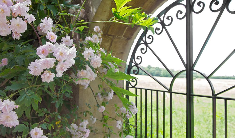 Bruern are as passionate about the gardens as they are about the interiors