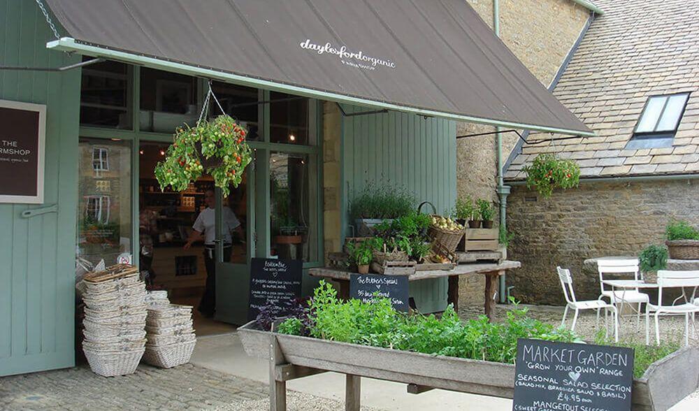 At the heart of Daylesford Organic Farm is an award-winning Farmshop