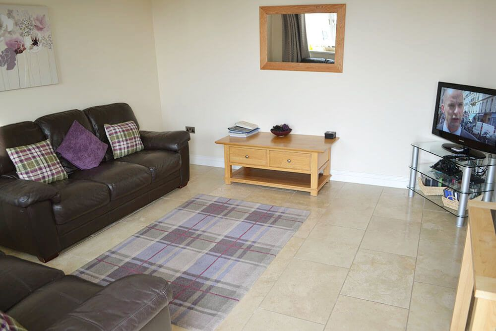 Ground floor: Sitting area in the spacious open plan living space