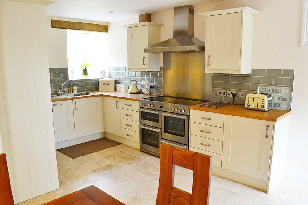 Ground floor: Kitchen area in the spacious open plan living space