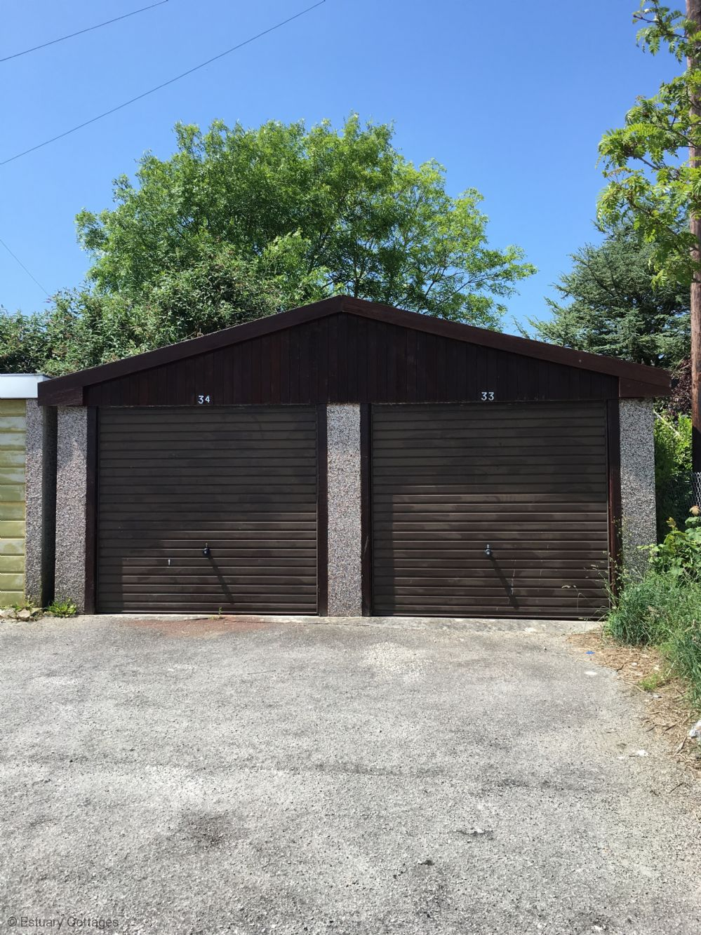 Garage for property