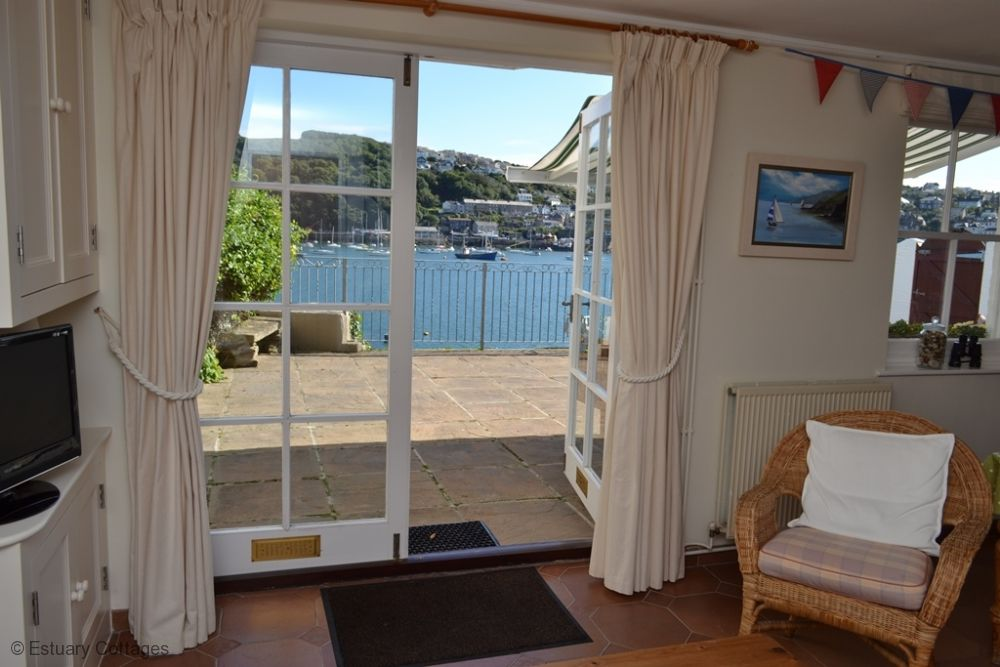 Doors to sun terrace