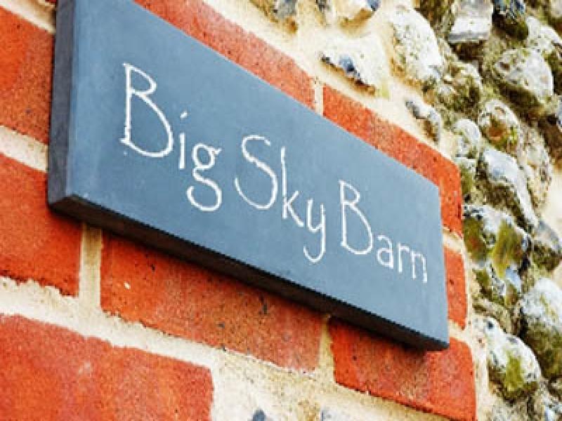Big Sky Barn | Sign
