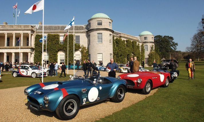 Motor event on the Goodwood Estate