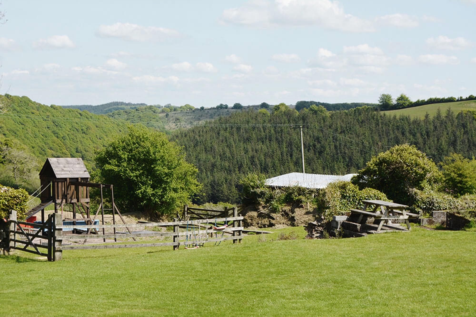 Mini guests are well looked after with shared use of a well-established adventure playground