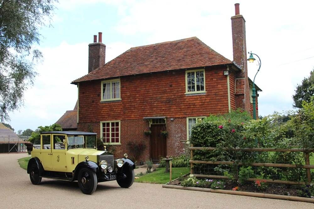 A licensed wedding venue - Primrose, the actual 1926 yellow vintage Rolls Royce used in the television series is on hand to transport the bride to be