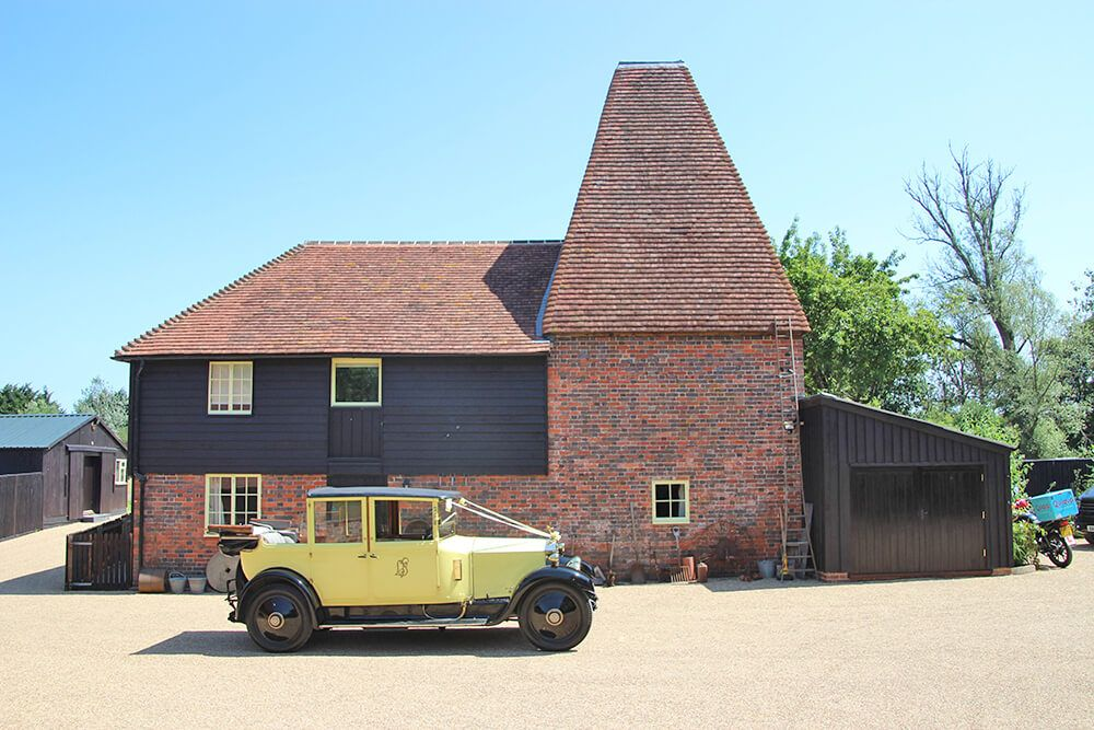 A licensed wedding venue, 'Primrose', the actual 1926 yellow vintage Rolls Royce used in the TV series can be on hand to transport the bride to be