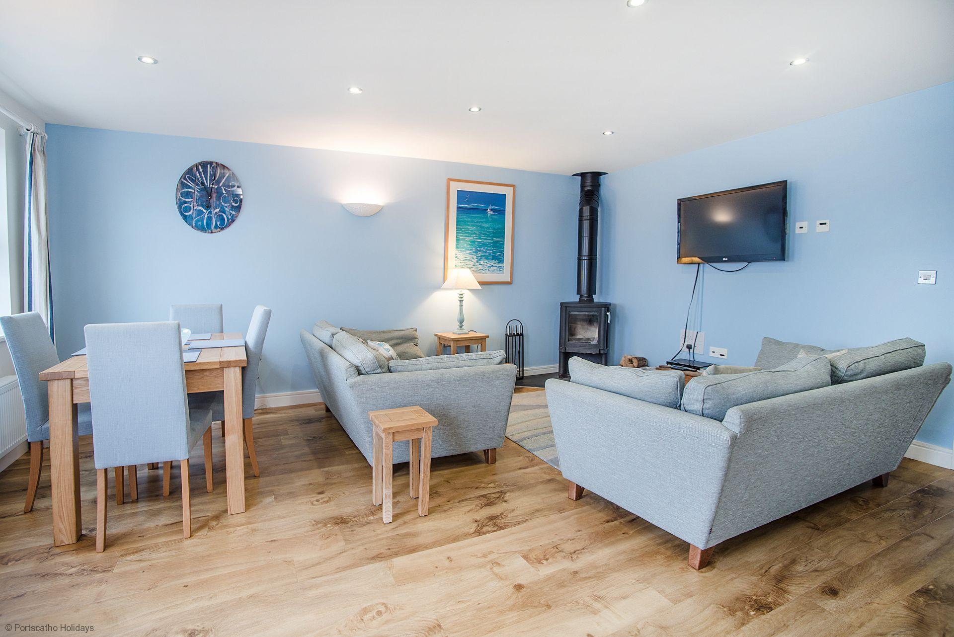 Seascape; Portscatho; Lounge/Dinner