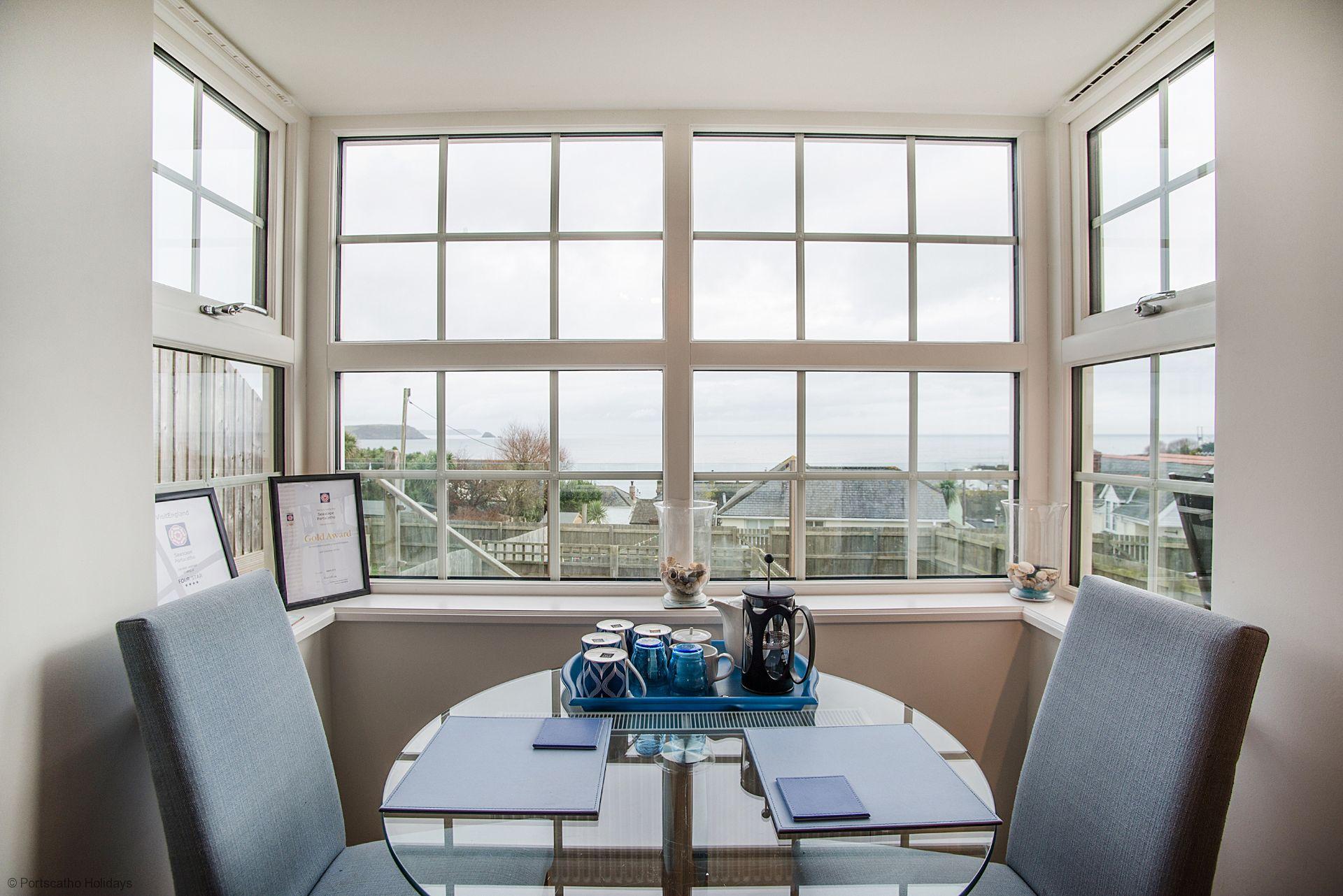 Seascape; Portscatho; Kitchen Table