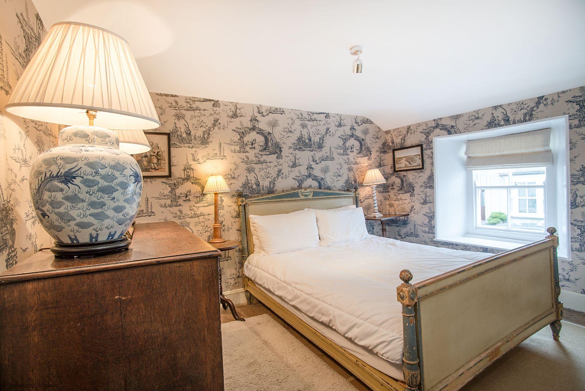 Penvar Cottage; Gerrans; Bedroom