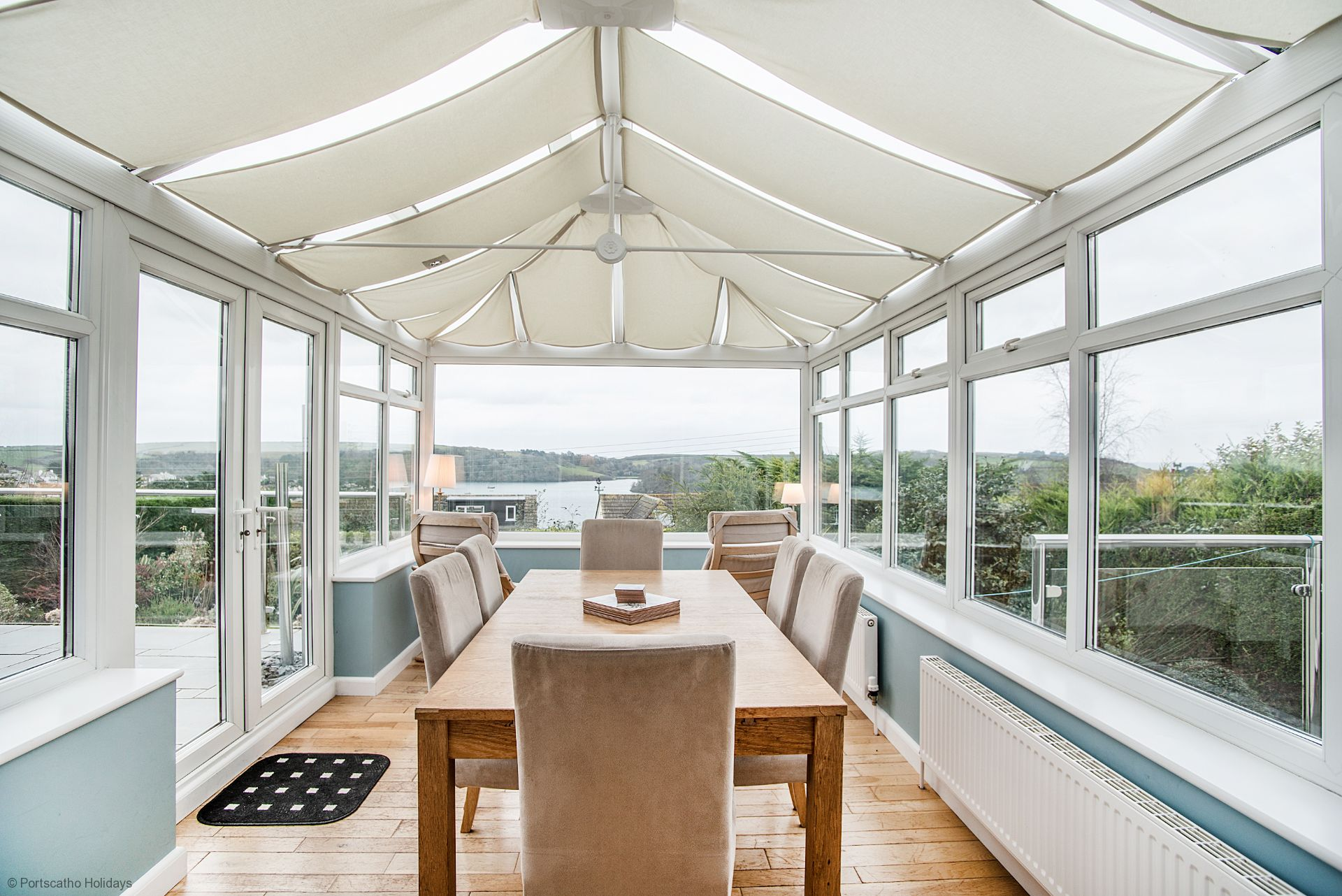 Summers View; St Mawes; Conservatory