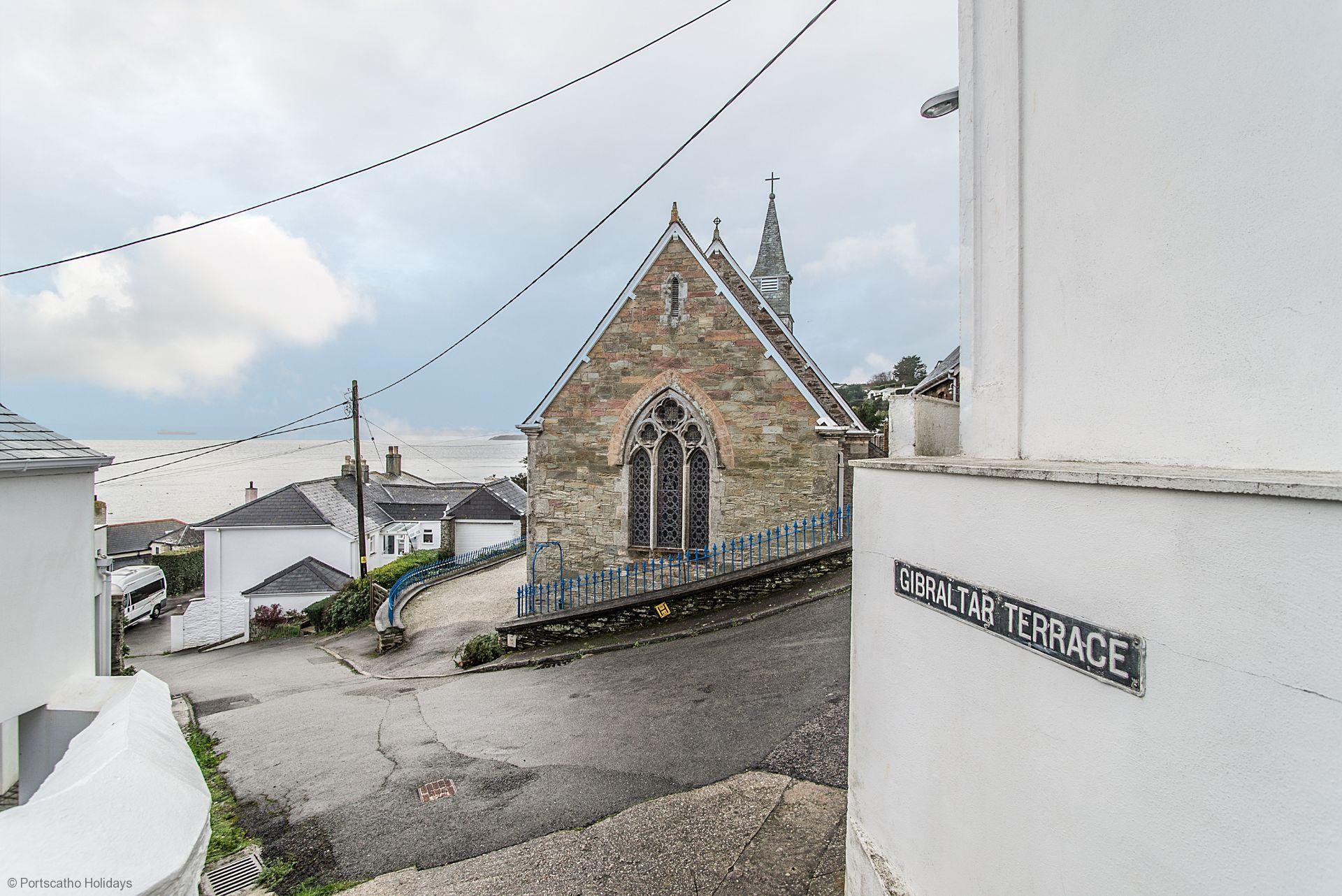 Gibraltar House; St Mawes; Cornwall;  Gibraltar Terrace