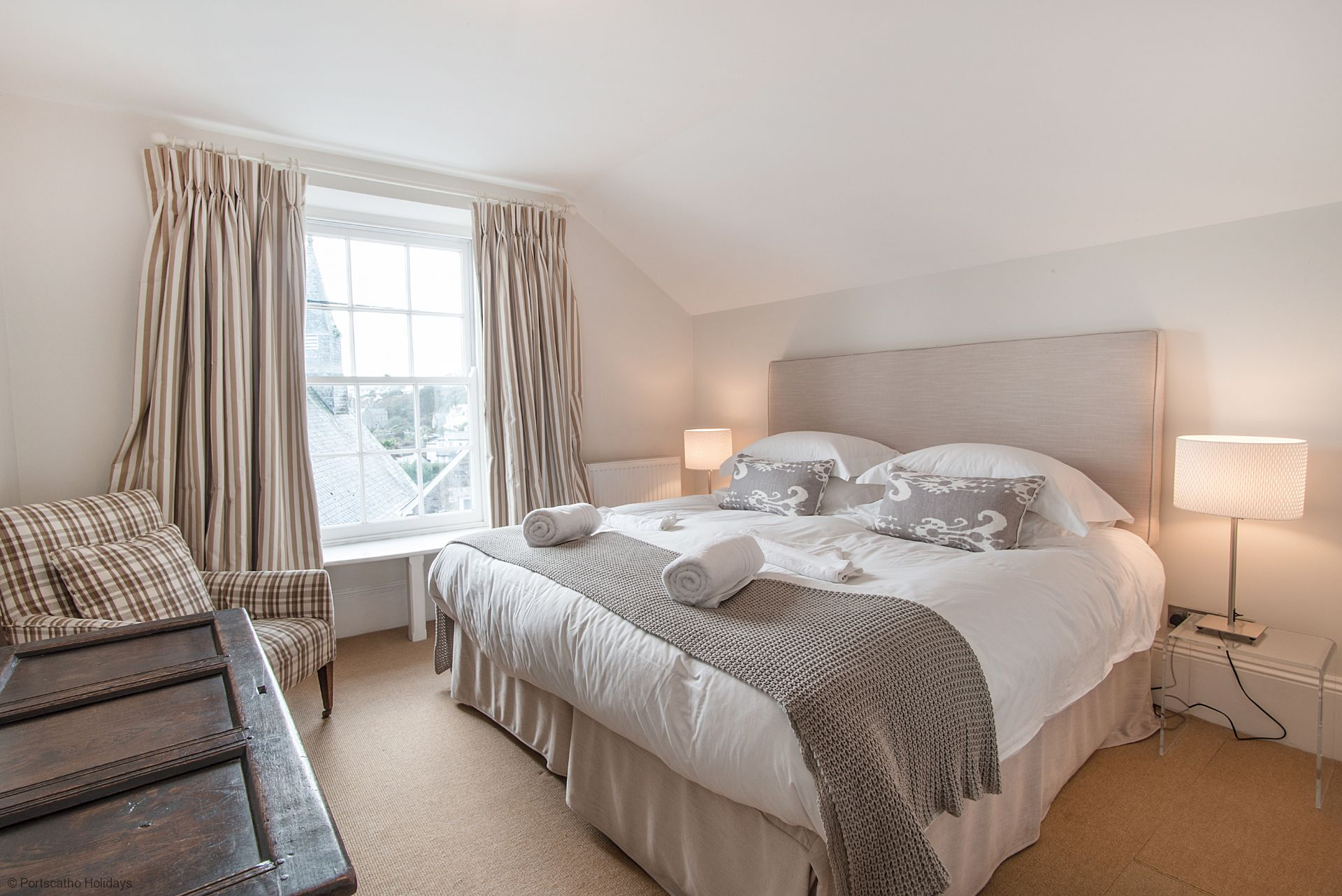 Gibraltar House; St Mawes; First Floor Double