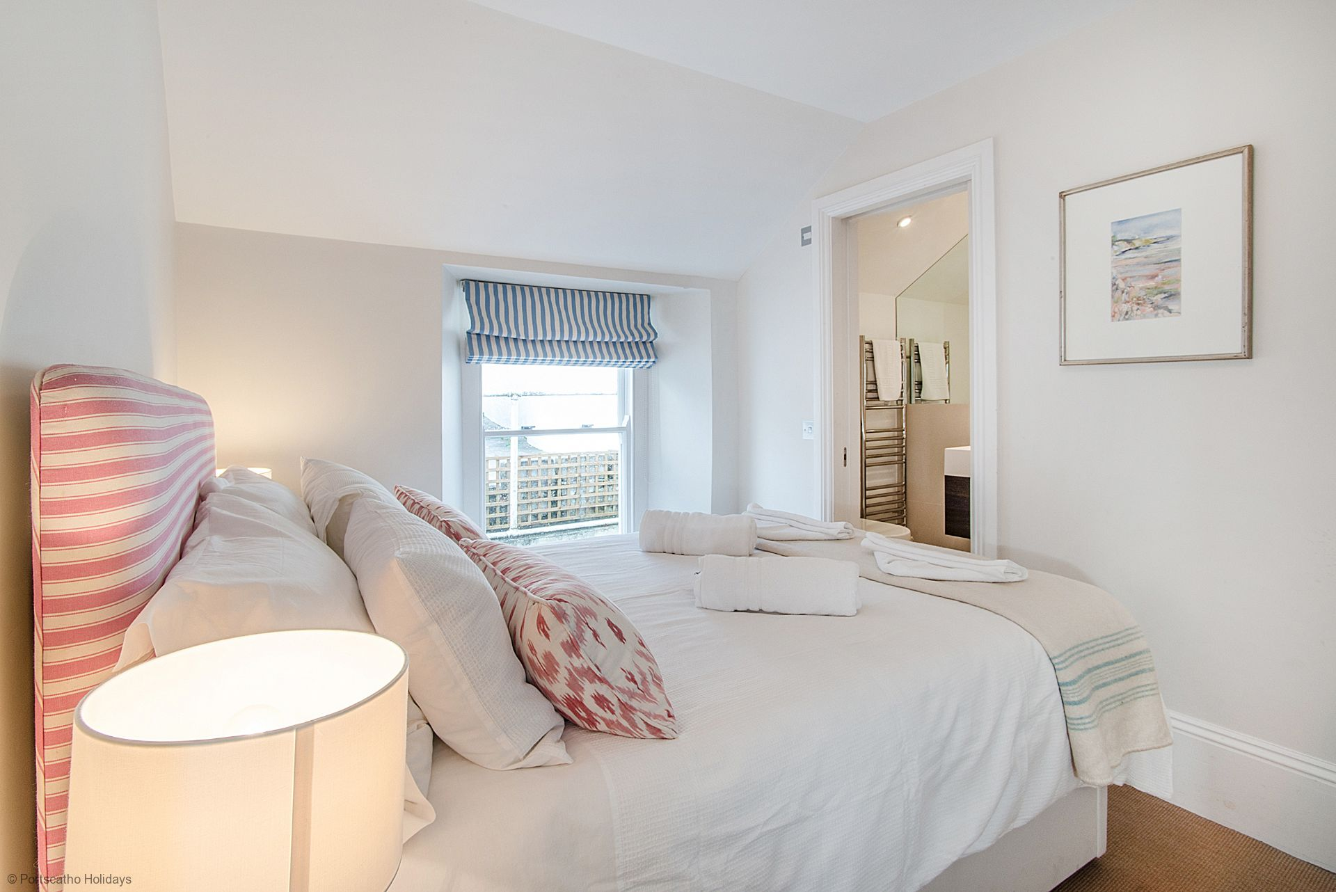 Gibraltar House; St Mawes; First Floor Double En-suite