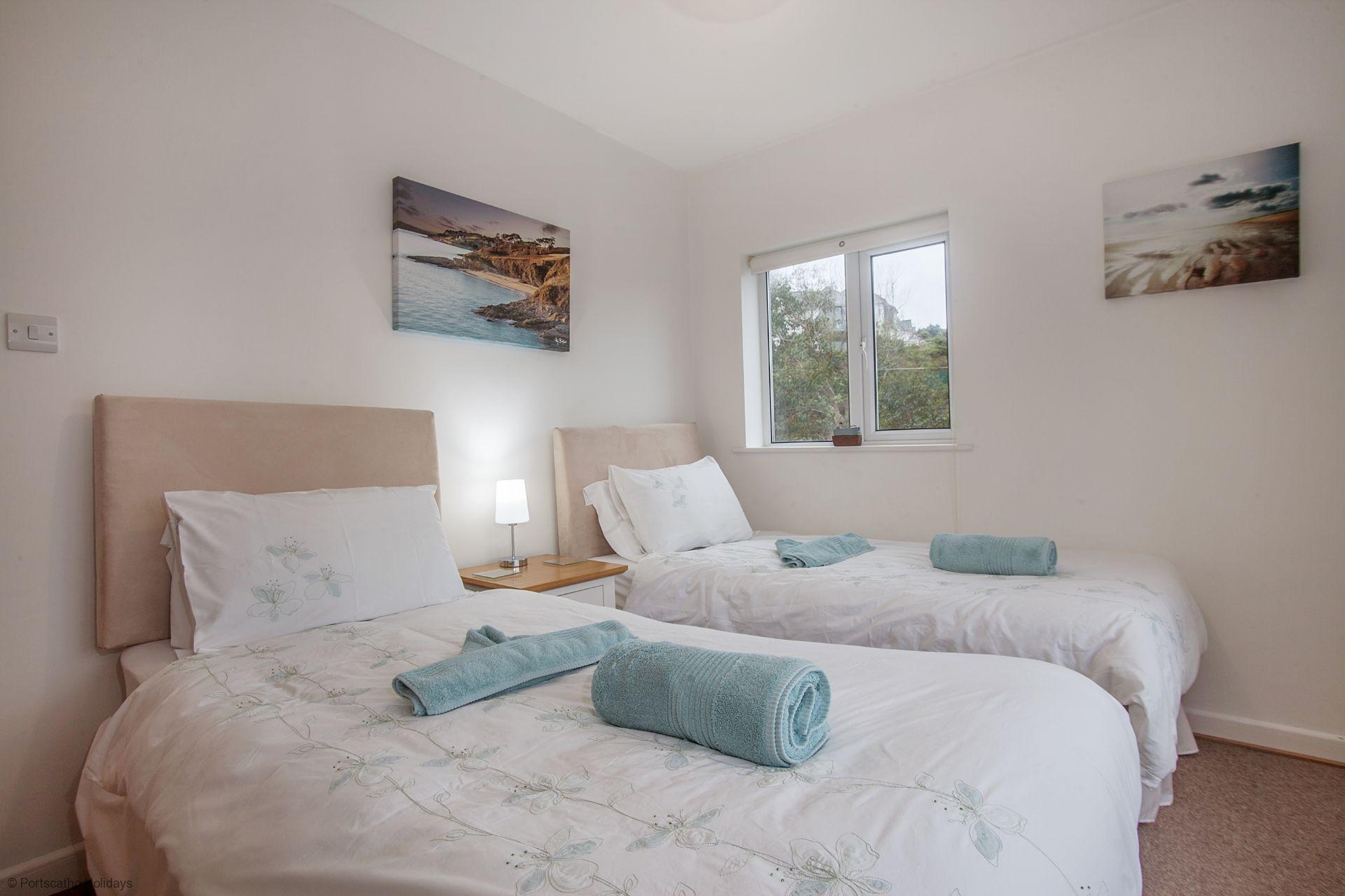 A Loft; St Mawes; Twin Bedroom