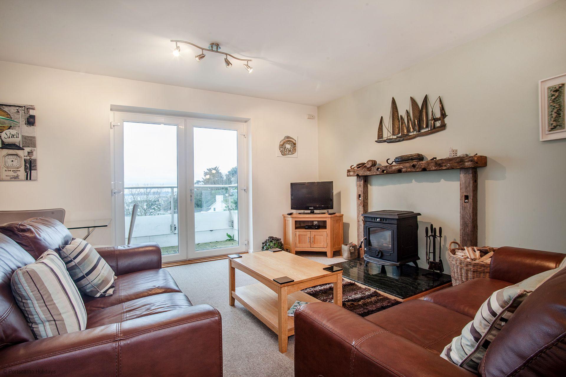 A Loft; St Mawes; Sitting Room