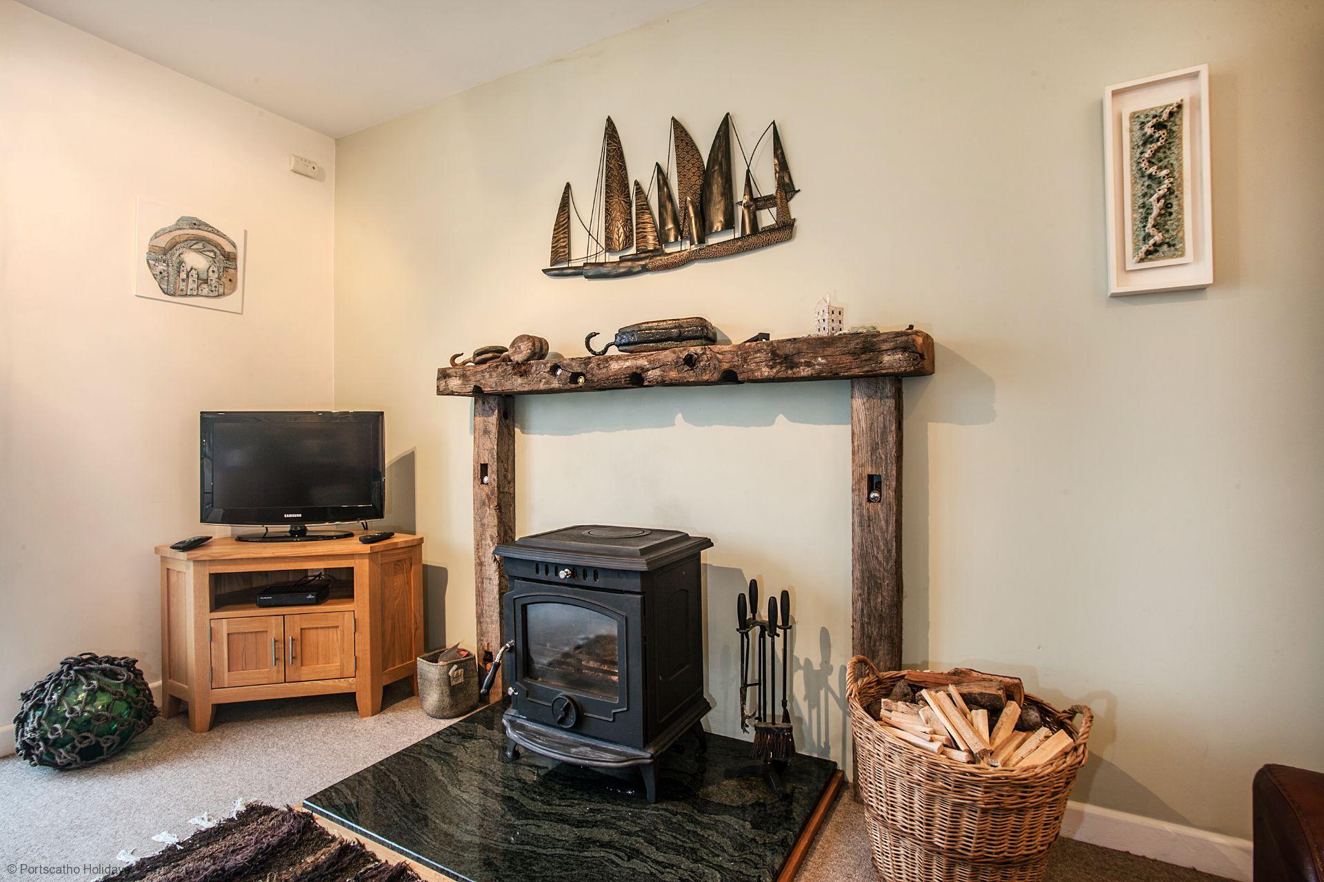 A Loft; St Mawes; Wood Burner