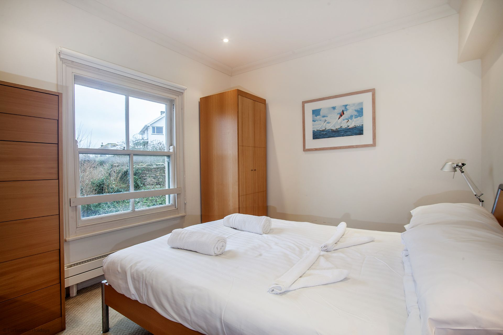 6 Spinnakers; Wentworth House; St Mawes; Master Bedroom