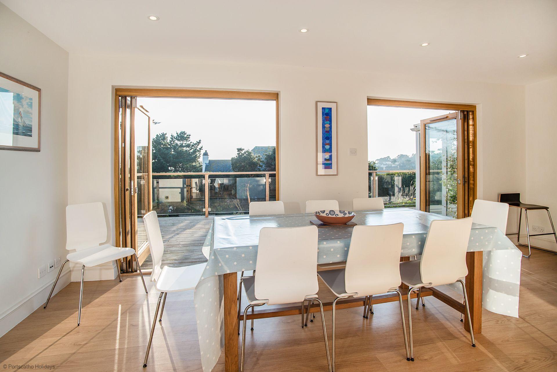 Medlar Cottage; St Mawes; Dinning Room