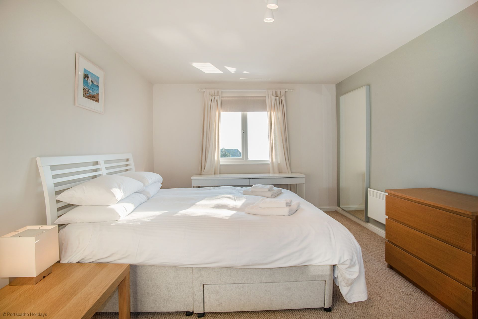 Medlar Cottage; St Mawes;  Master Bedroom