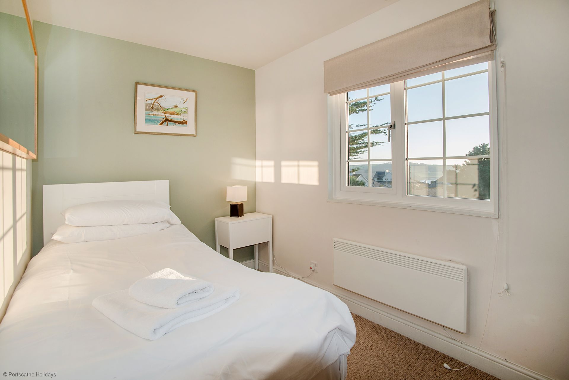 Medlar Cottage; St Mawes; Single Bedroom