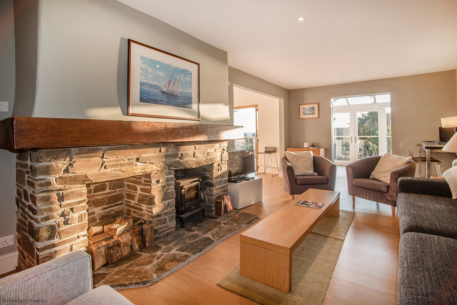 Medlar Cottage; St Mawes;  Lounge II