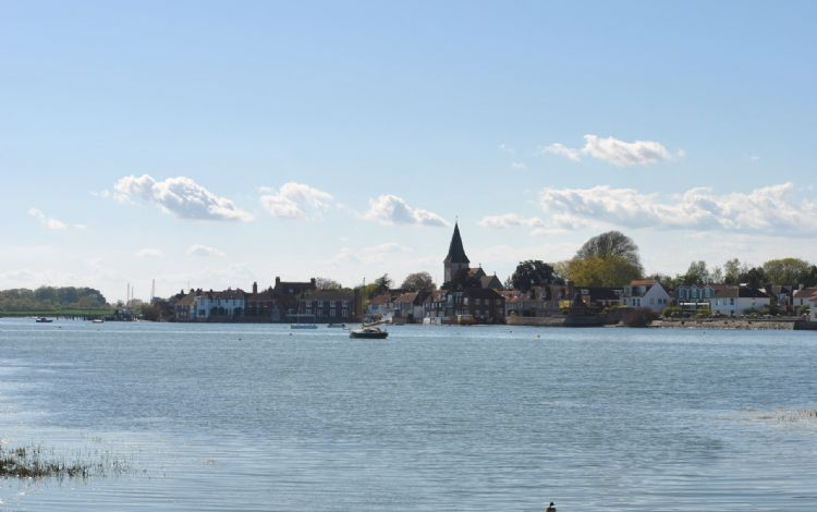 Chichester Harbour with the view to Bosham