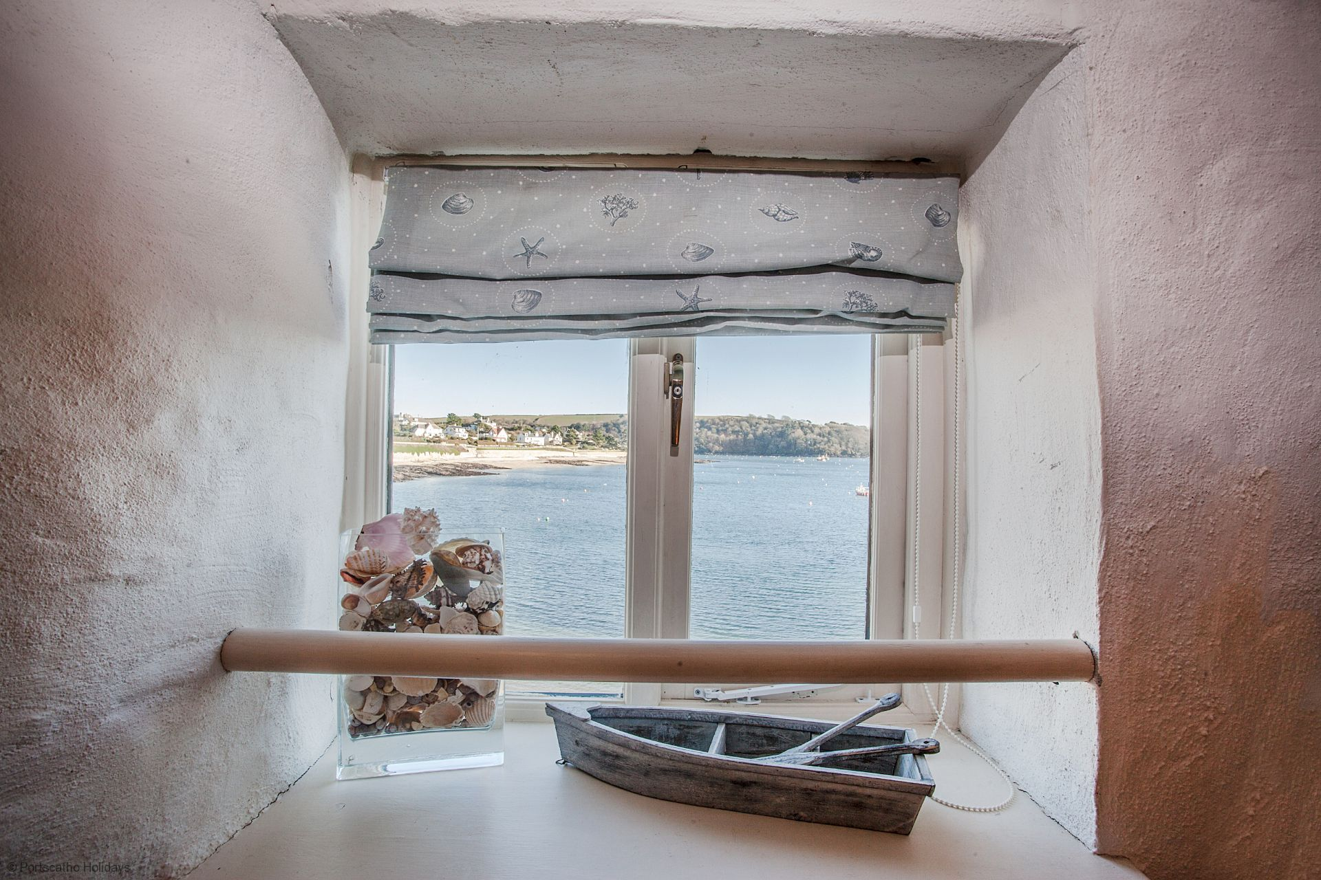 Castle Cottage; St Mawes; View from Twin Bedroom
