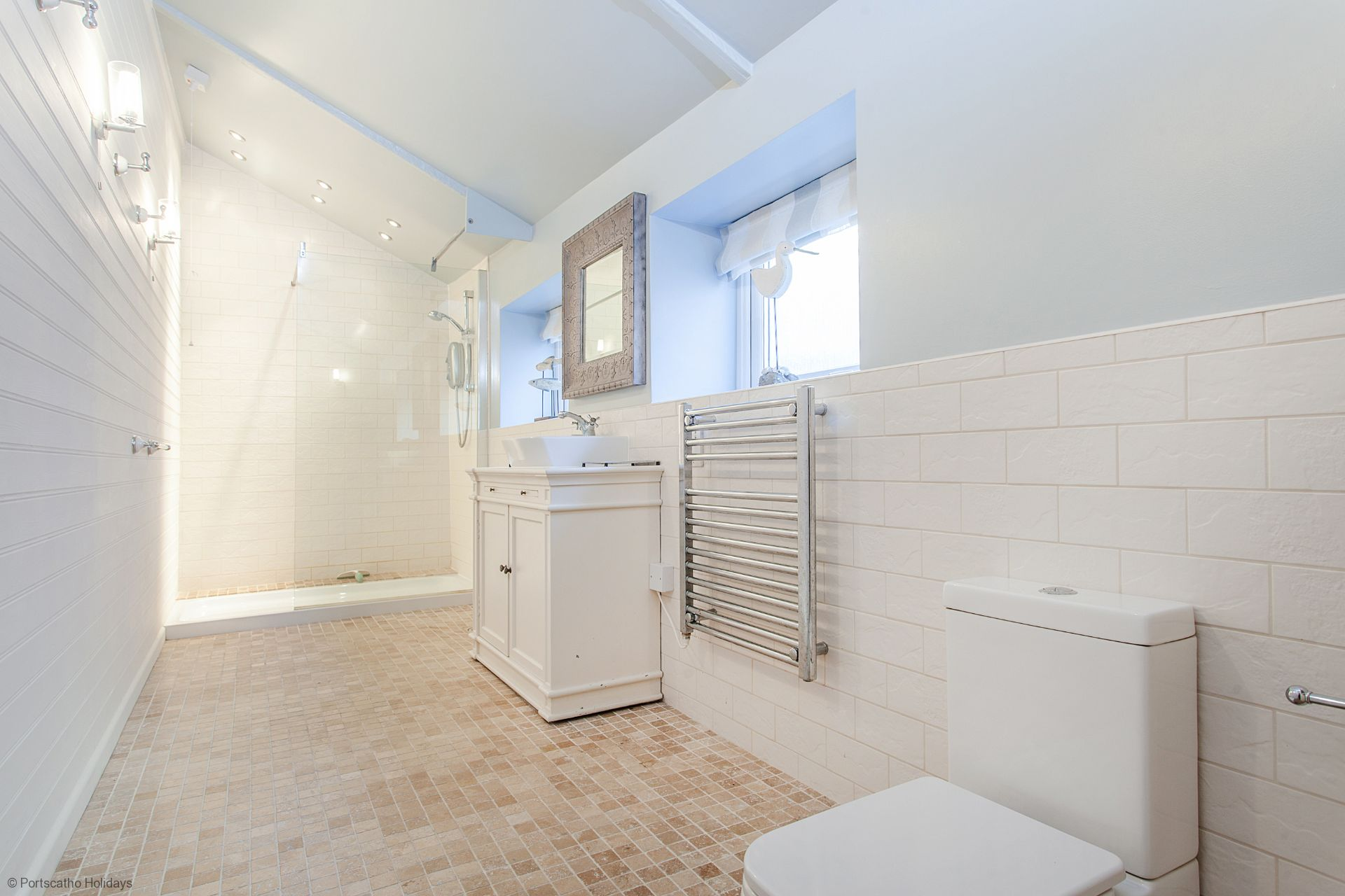 Castle Cottage; St Mawes; Ground Floor wetroom