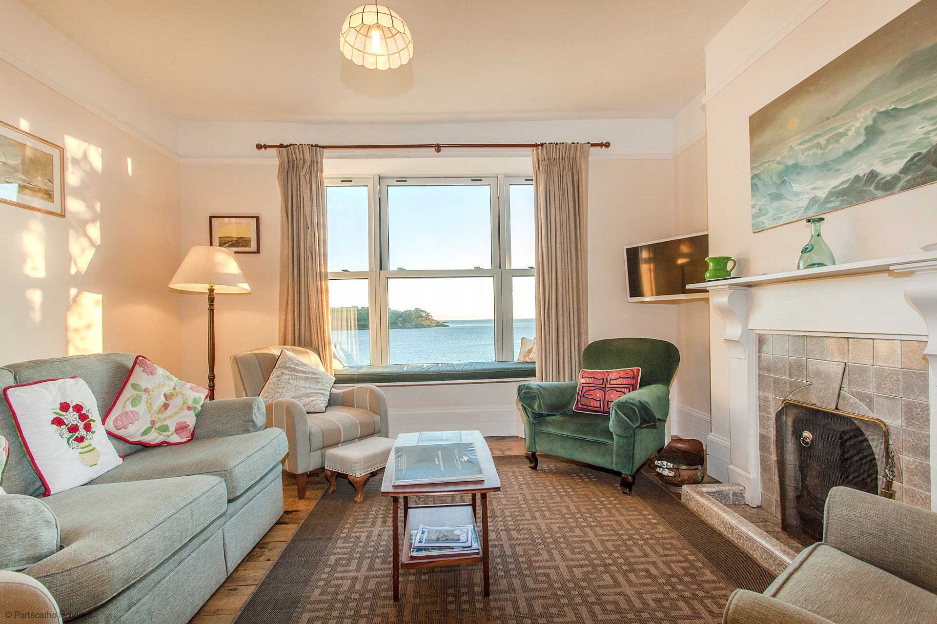 Captains Cottage; St Mawes; Sitting Room II