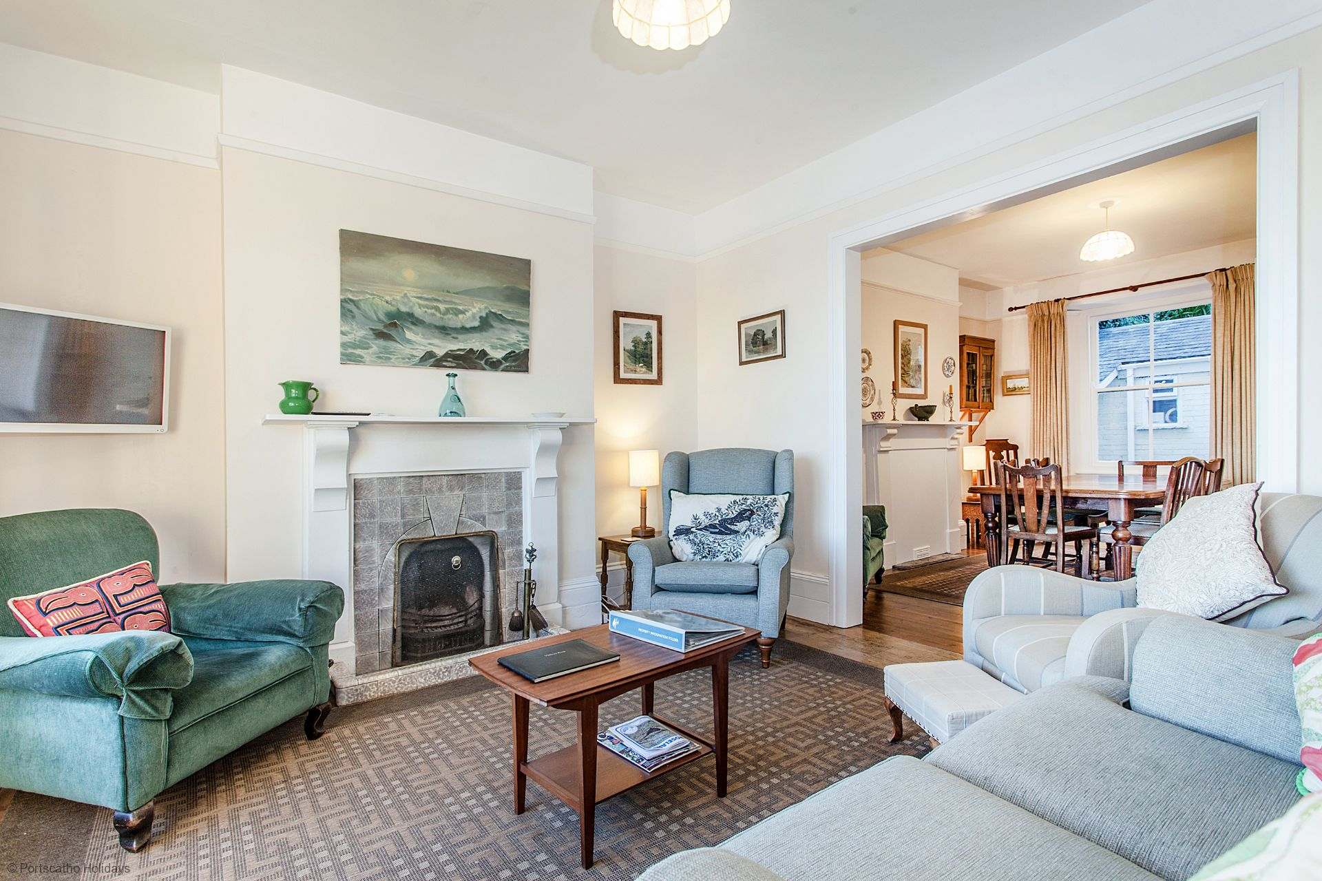 Captains Cottage; St Mawes; Sitting Room