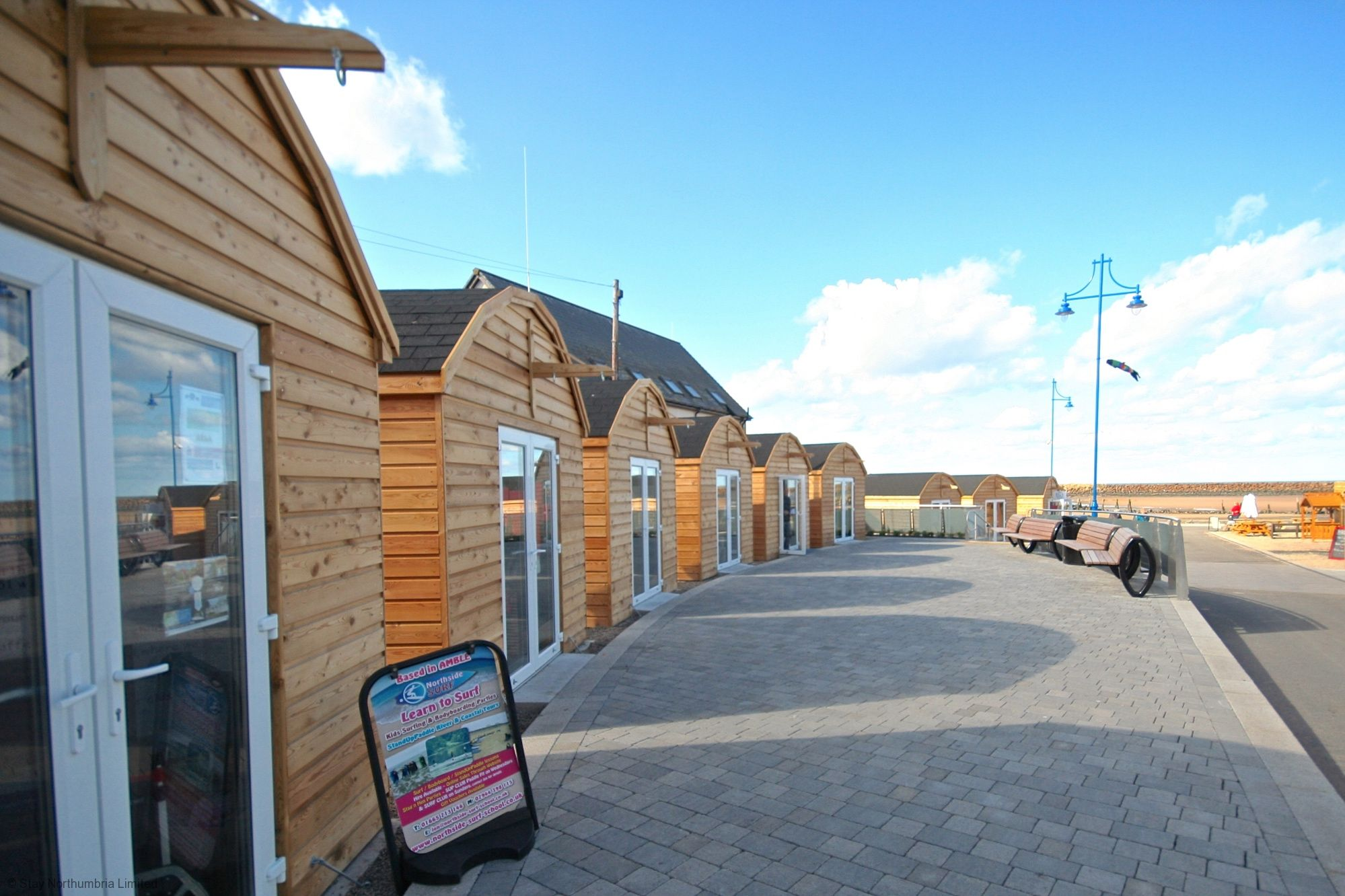 "Amble ""pod"" Shopping Village"